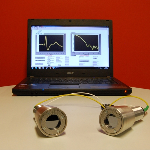 Terahertz Fiber Coupled Spectrometer at 1550 nm (Rigel-1550)